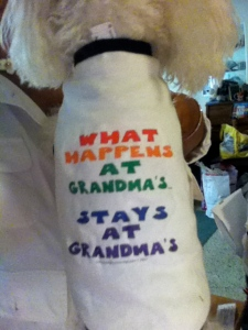 What happens at Grandma's@TheDanteDiaries
