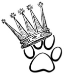 Paw with crown