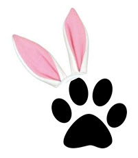 Easter paw@TheDanteDiaries