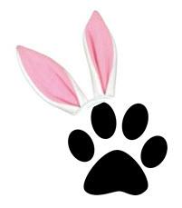 Easter paw@TheDanteDiaries
