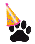 Birthday Paw
