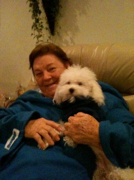 Grandma's lap
