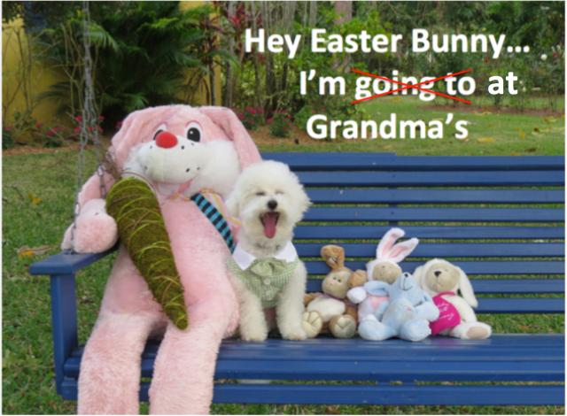 Easter at Grandma's