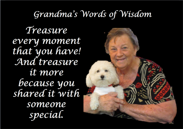 Grandma's Words of Wisdom