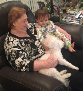 Grandma & me & Corbin